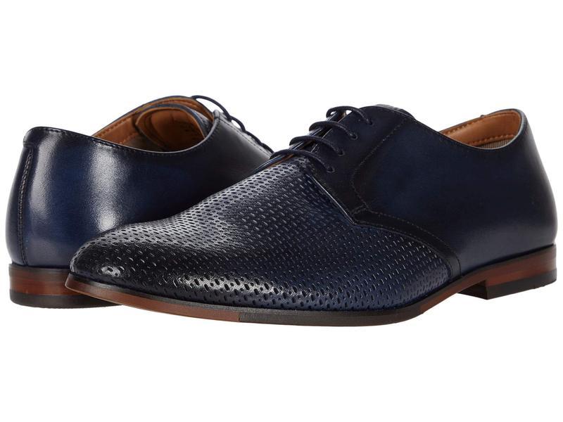 スティーブ マデン メンズ オックスフォード シューズ Elixer Oxford Navy Leather