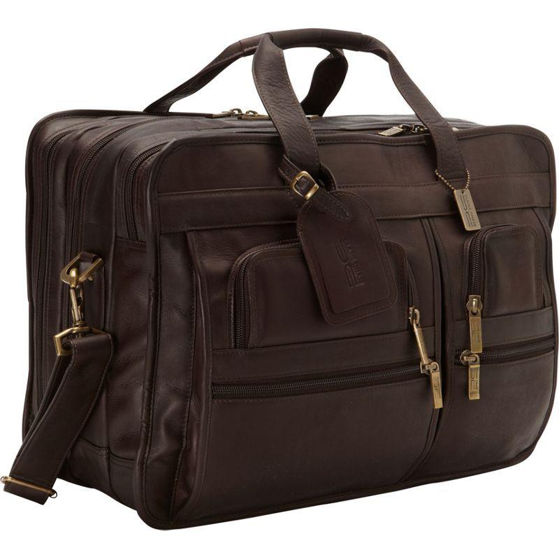 クレアーチャイス メンズ スーツケース バッグ Jumbo Executive Laptop Briefcase Cafe