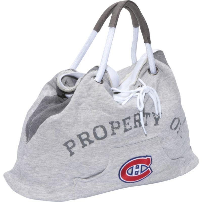 リトルアース メンズ トートバッグ バッグ NHL Hoodie Tote Grey/Montreal Canadiens Montreal Canadiens