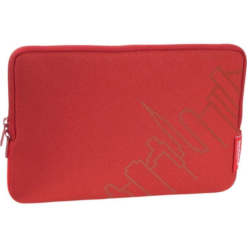 マンハッタンポーテージ メンズ スーツケース バッグ MacBook Air Skyline Sleeve (11) Red