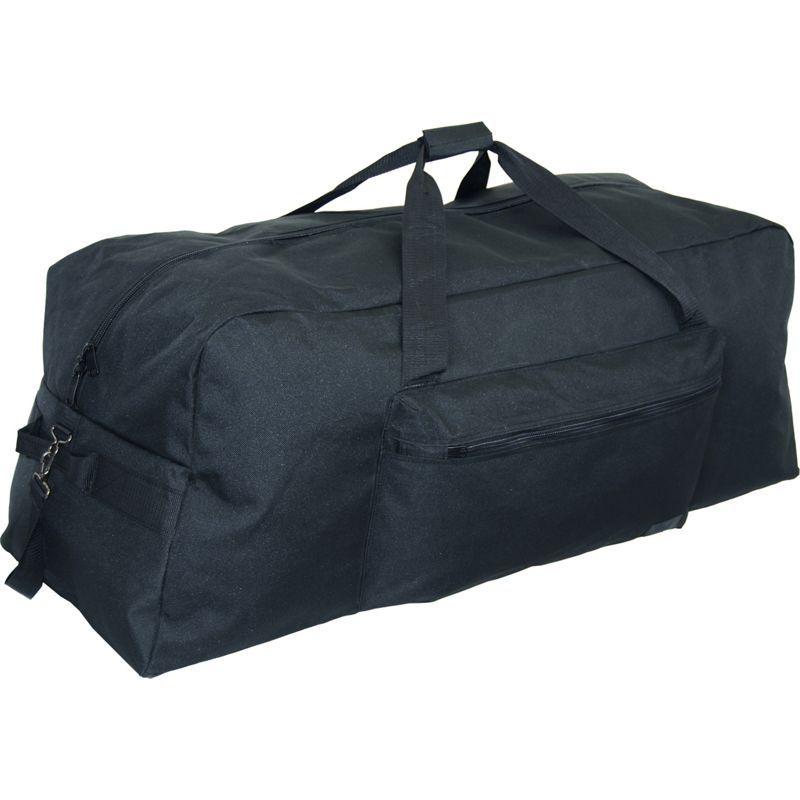 ネットパック メンズ スーツケース バッグ 42 1200 D Interlace Poly Large Base Duffel Black