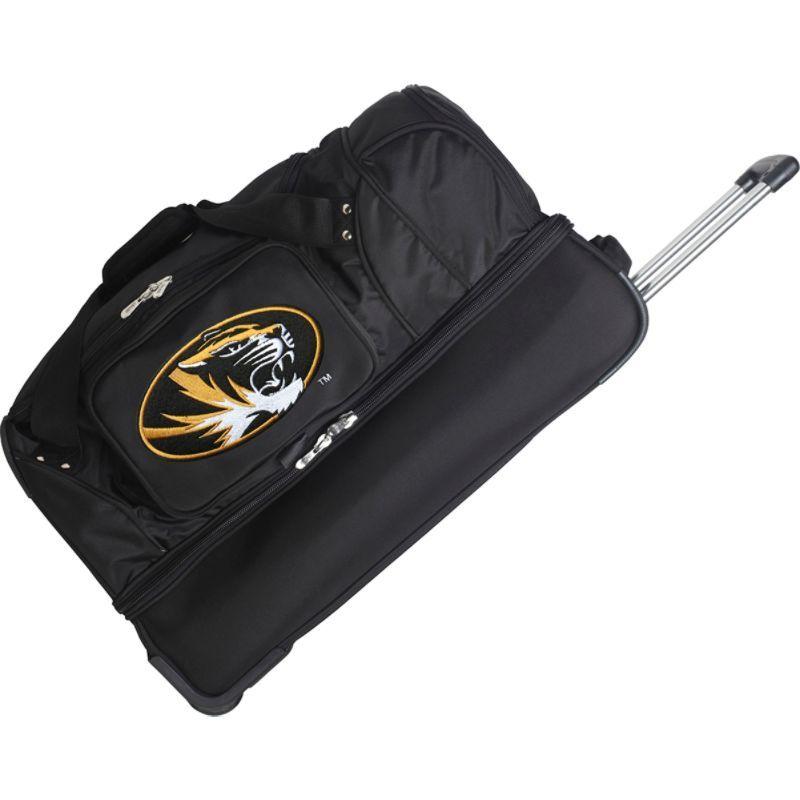 デンコスポーツ メンズ スーツケース バッグ NCAA 27 Drop Bottom Wheeled Duffel Bag University of Missouri Tigers