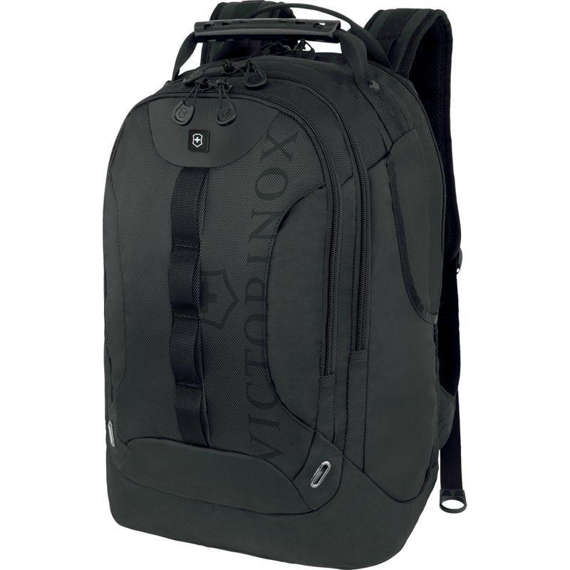 ビクトリノックス メンズ バックパック・リュックサック バッグ VX Sport Trooper Laptop Backpack Black/Black Logo