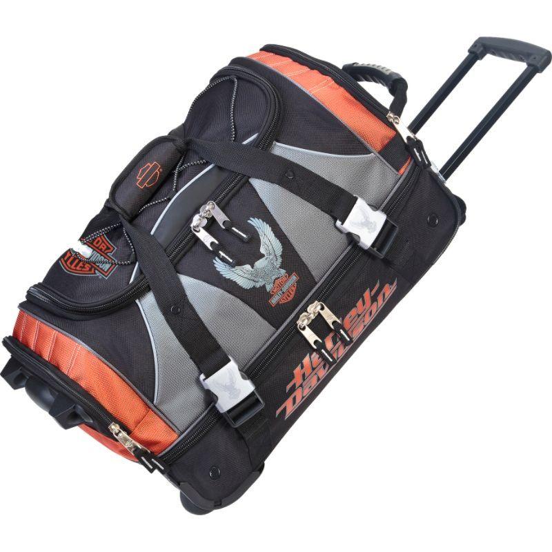 ハーレーダビッドソン メンズ スーツケース バッグ 21 Carry-On with Organizer Rust/Black