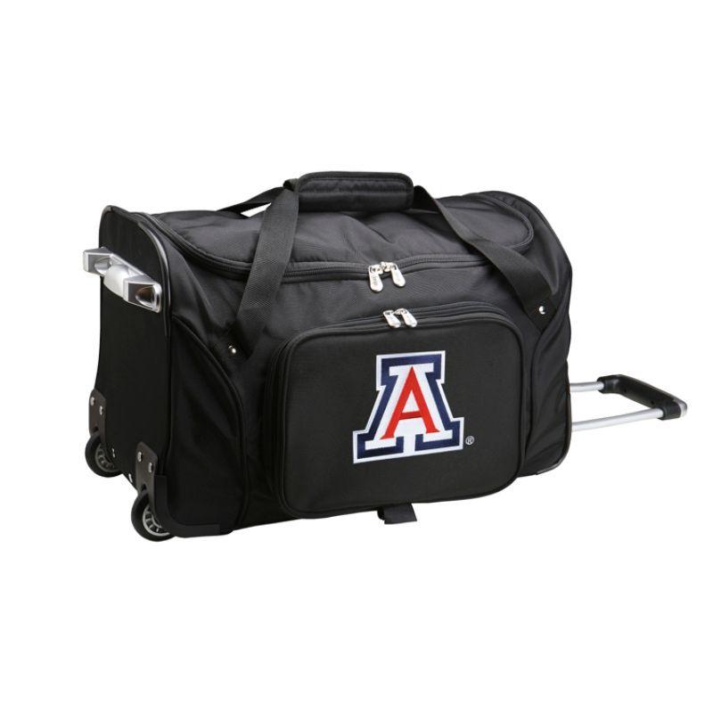 デンコスポーツ メンズ スーツケース バッグ NCAA 22 Rolling Duffel University of Arizona Wildcats
