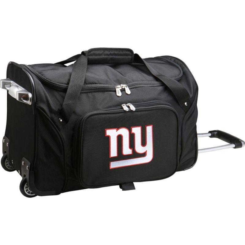 デンコスポーツ メンズ スーツケース バッグ NFL 22 Rolling Duffel New York Giants