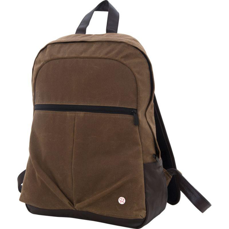 トーケン メンズ バックパック・リュックサック バッグ Waxed Woodhaven Backpack Field Tan