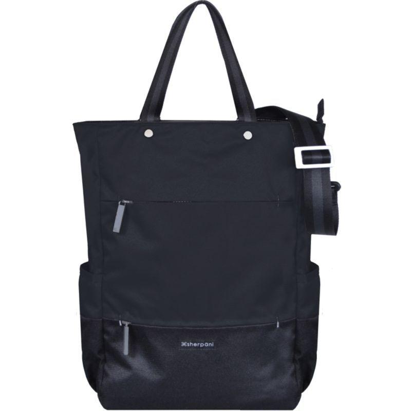 シェルパニ メンズ トートバッグ バッグ Camden RFID Convertible Backpack Tote - 17 Raven