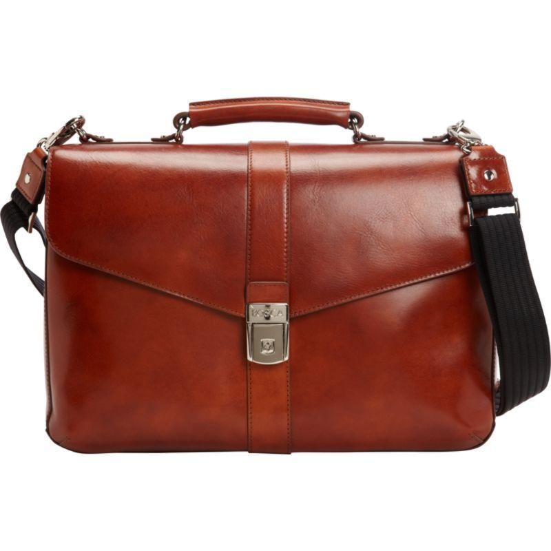 ボスカ メンズ スーツケース バッグ Flapover Brief Amber