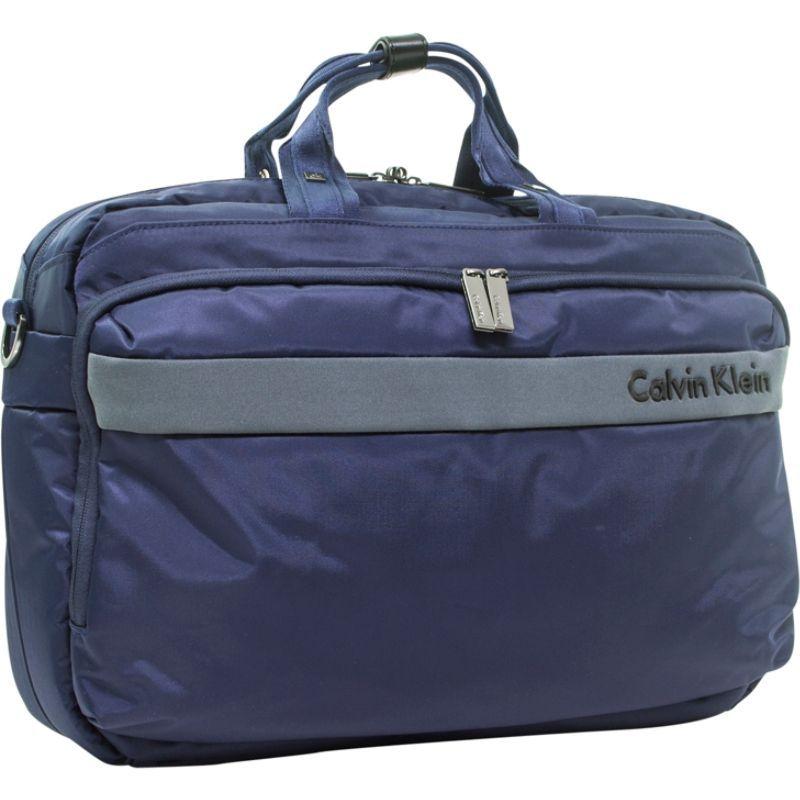 カルバンクライン メンズ スーツケース バッグ Flatiron 3.0 Laptop Case Blue