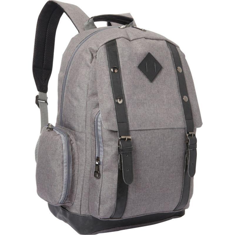 ベリノ メンズ バックパック・リュックサック バッグ Empire Backpack Grey