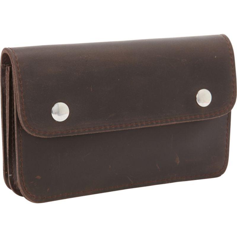 ヴァガボンドトラベラー メンズ PC・モバイルギア アクセサリー Cowhide Leather Belt Phone Holder Dark Brown