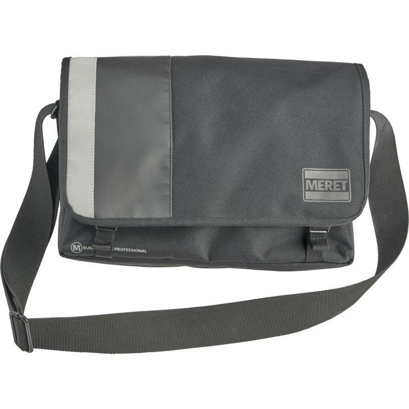 メレット メンズ ショルダーバッグ バッグ Quickline Pro Laptop Messenger Black
