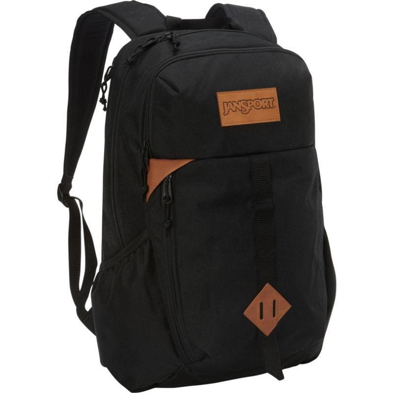 ジャンスポーツ メンズ バックパック・リュックサック バッグ Hawk Ridge Laptop Backpack- Discontinued Colors Black
