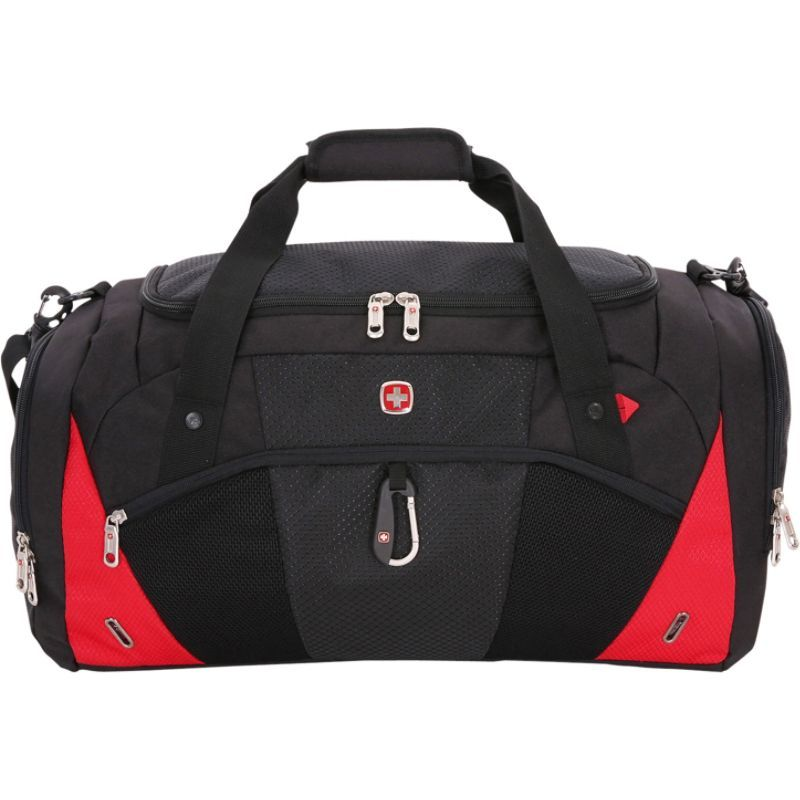100%本物 スイスギアトラベルギア Black/Red メンズ スーツケース Exclusive eBags バッグ 1900 Duffel - eBags Exclusive Black/Red, ハウジングサポートプラザ:b7c7bc8b --- dondonwork.top