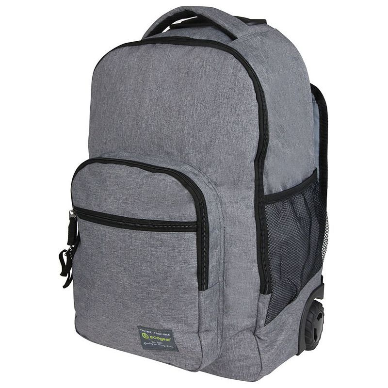 エコギアー メンズ バックパック・リュックサック バッグ Dhole Laptop Rolling Backpack Asphalt