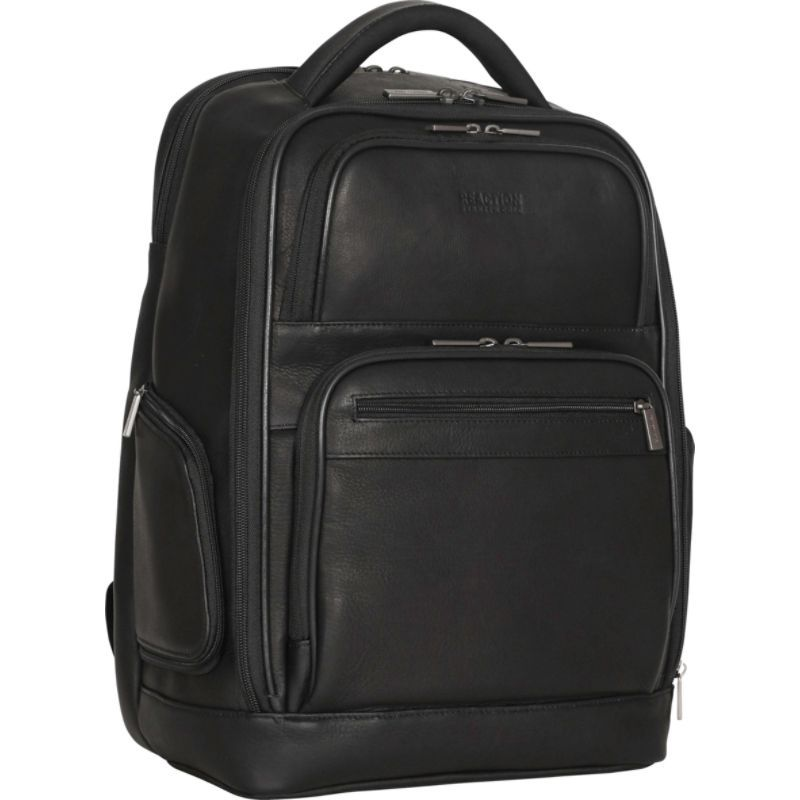 ケネスコール メンズ スーツケース バッグ Ease Back Dual Compartment 15.6 Laptop RFID Business Backpack Black