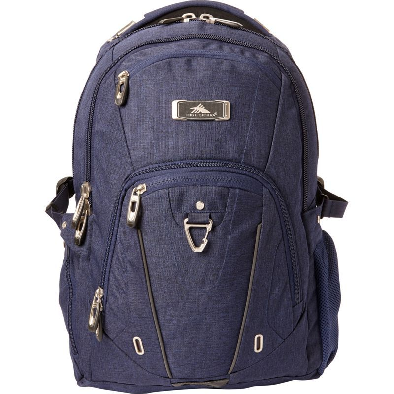 ハイシエラ メンズ バックパック・リュックサック バッグ Pro Series Laptop Business Backpack- eBags Exclusive Maritime Heather/Maritime