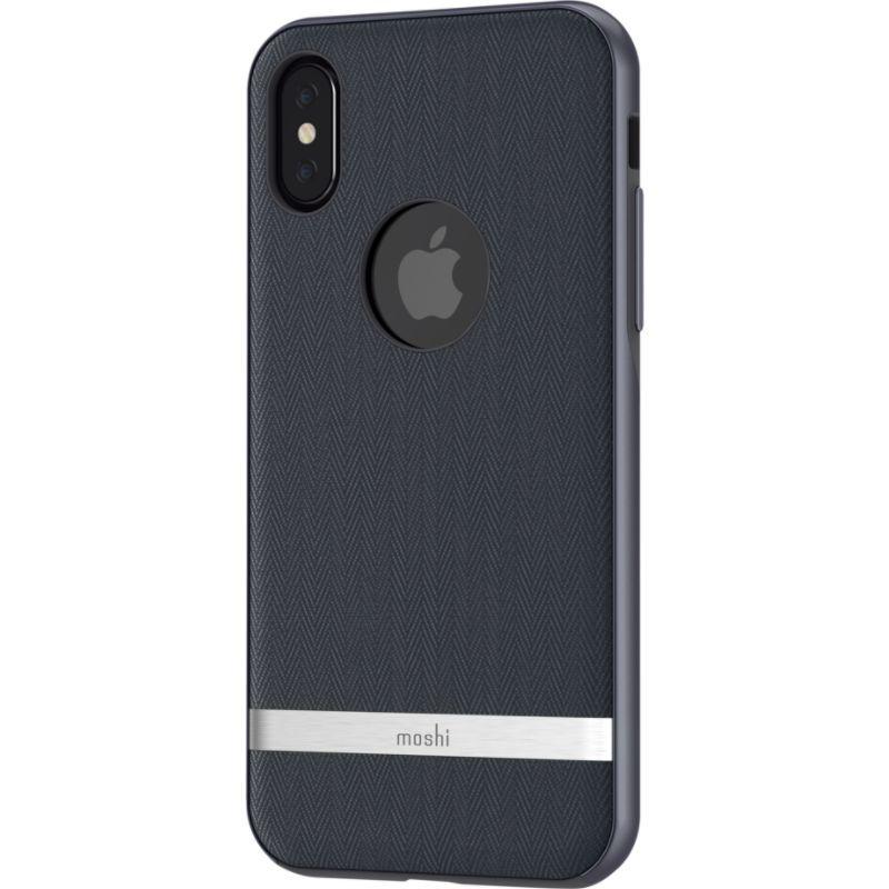 モシ メンズ PC・モバイルギア アクセサリー Vesta for iPhone X Bahama Blue