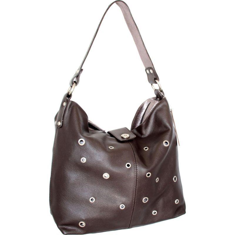 ニノボッシ メンズ ショルダーバッグ バッグ Suzie Shoulder Bag Chocolate
