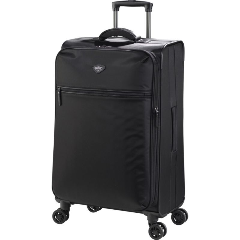 ジャンプ メンズ スーツケース バッグ Nice Medium Expandable Dual Spinner Suitcase Black