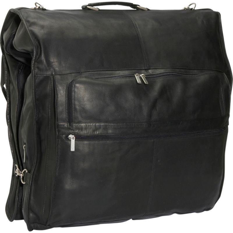 デビッドキング メンズ スーツケース バッグ 48 Deluxe Garment Bag Black