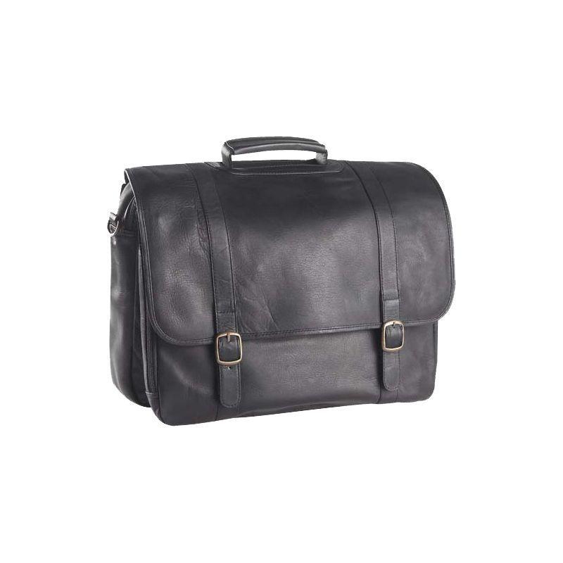 クレバ メンズ スーツケース バッグ Executive Laptop Briefcase Tuscan Black