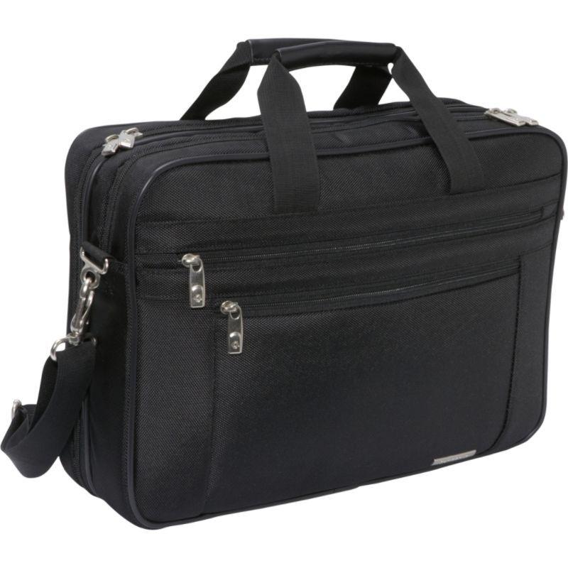 サムソナイト メンズ スーツケース バッグ Classic 2 Gusset PFT Laptop Briefcase Black