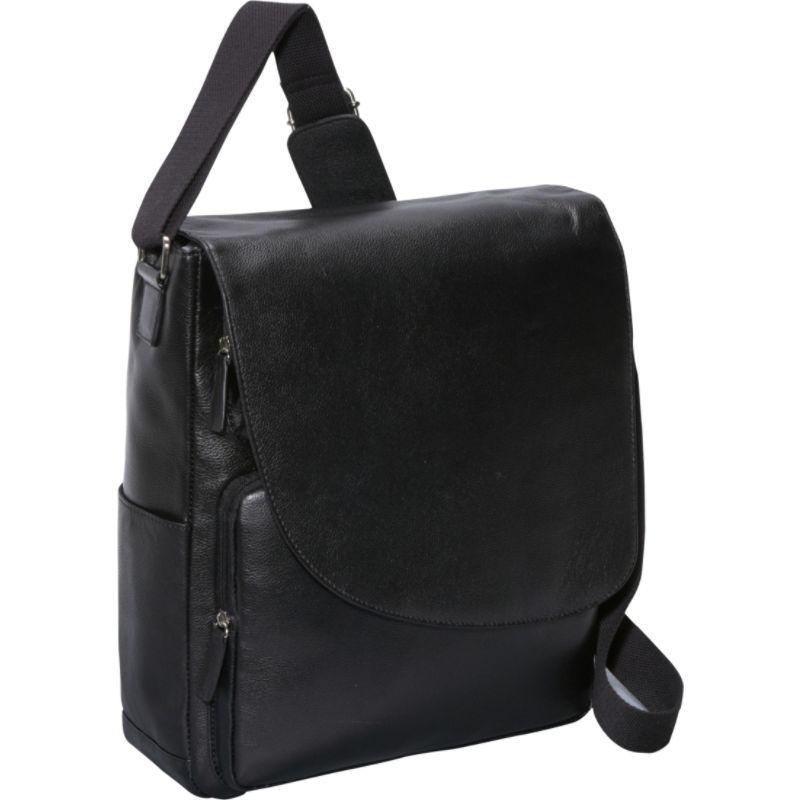 ベリノ メンズ ショルダーバッグ バッグ Max Messenger Bag Black