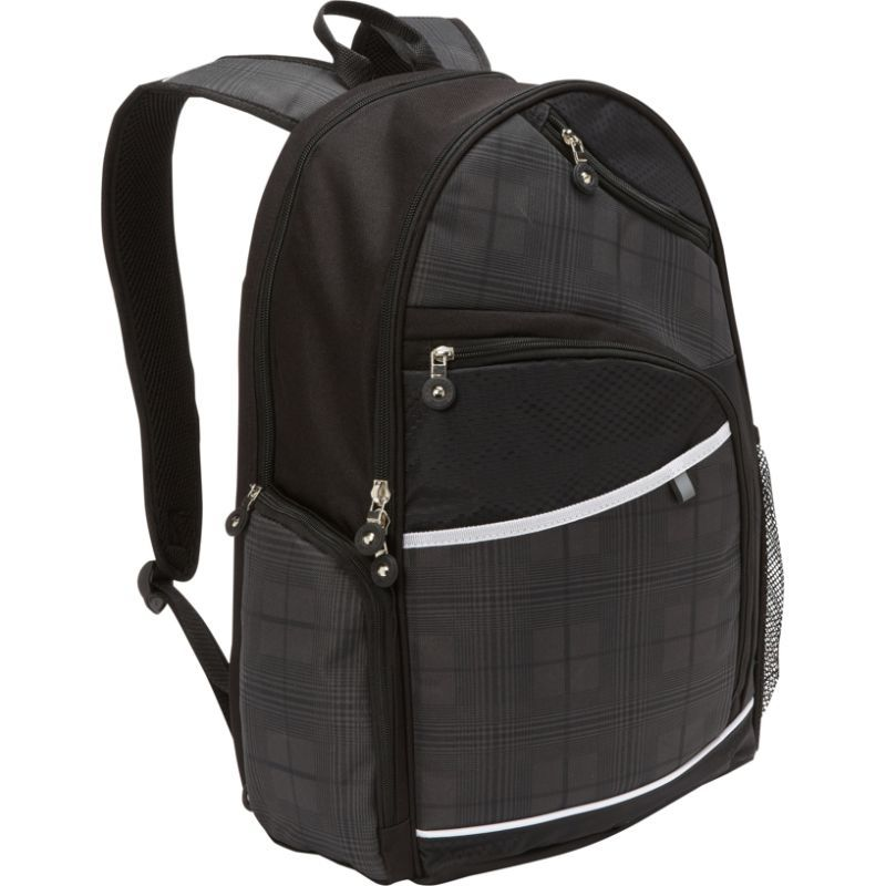 ベリノ メンズ スーツケース バッグ Matrix Plus Scan Express Computer Backpack Black