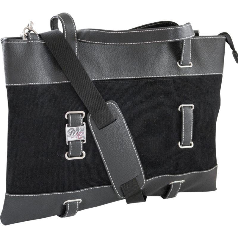 モバイルエッジ メンズ スーツケース バッグ Corduroy Ultrabook Tote - 14.1/15 Mac Black