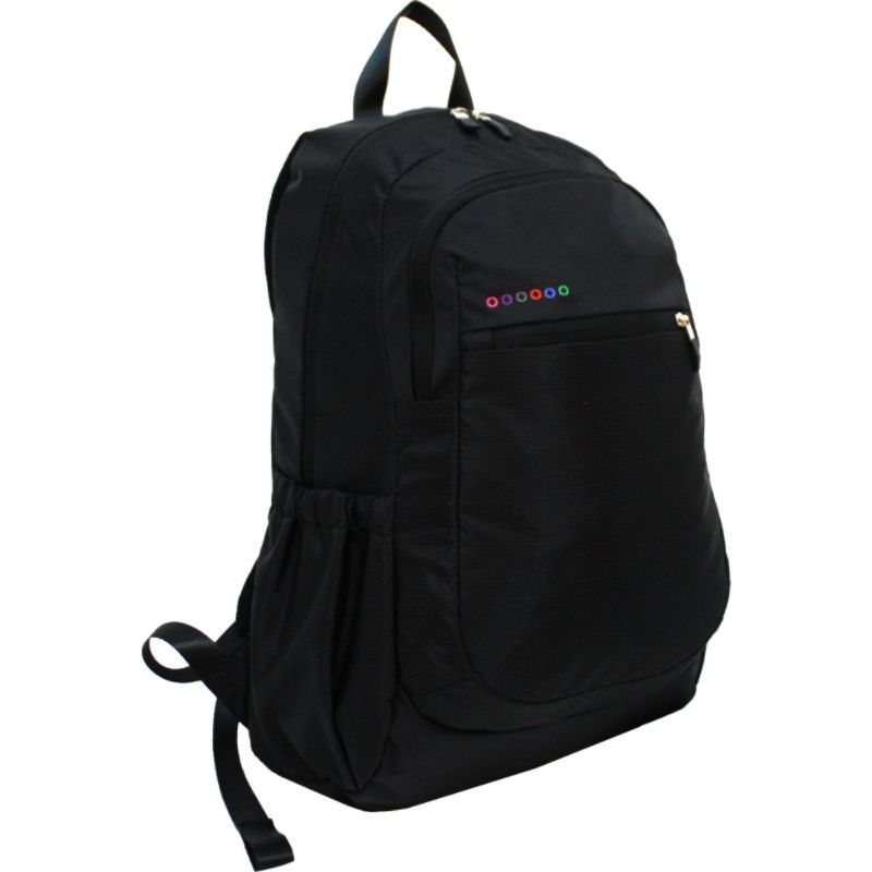 ジャイワールドニューヨーク メンズ スーツケース バッグ Benson Laptop Backpack Black