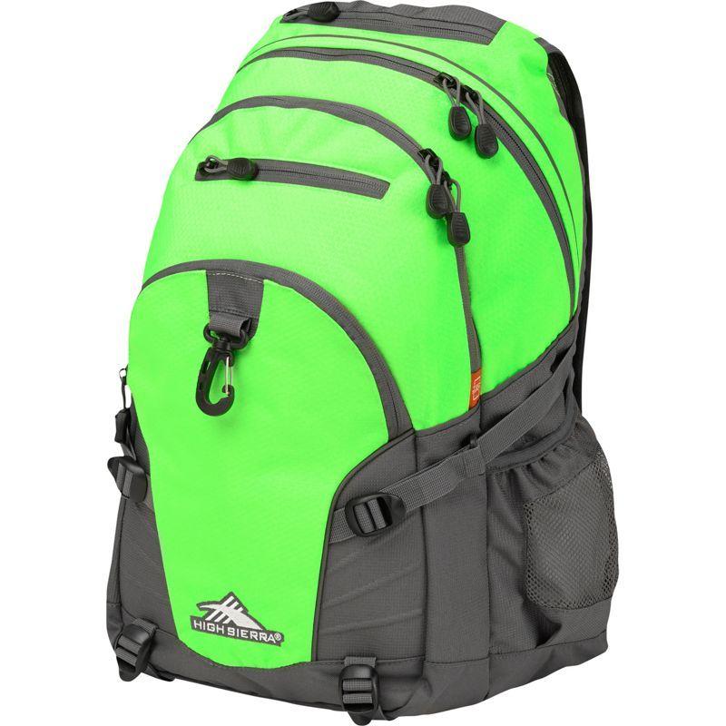 ハイシエラ メンズ バックパック・リュックサック バッグ Loop Backpack Lime/Slate