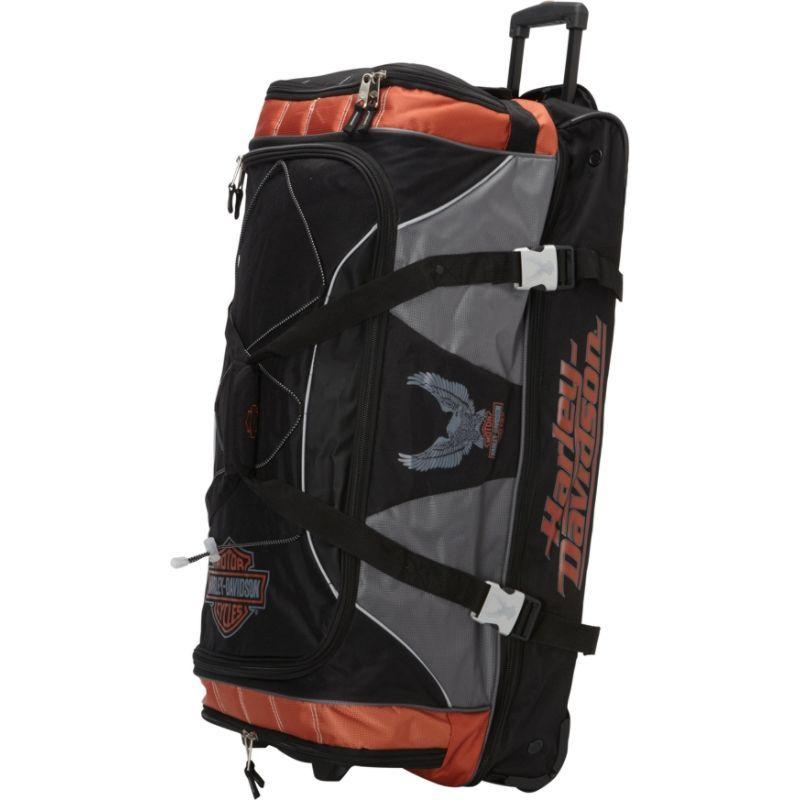 ハーレーダビッドソン メンズ スーツケース バッグ 32 XL Duffel with Organizer Rust/Black