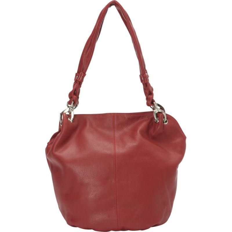 デレクアレクサンダー メンズ ショルダーバッグ バッグ Large Bucket Shoulder Bag Red