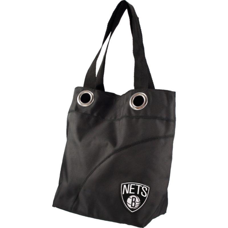 リトルアース メンズ トートバッグ バッグ Color Sheen Tote - NBA Teams Brooklyn Nets