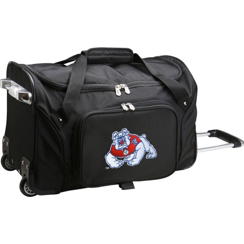 デンコスポーツ メンズ スーツケース バッグ NCAA 22 Rolling Duffel California State University, Fresno Bullsdogs