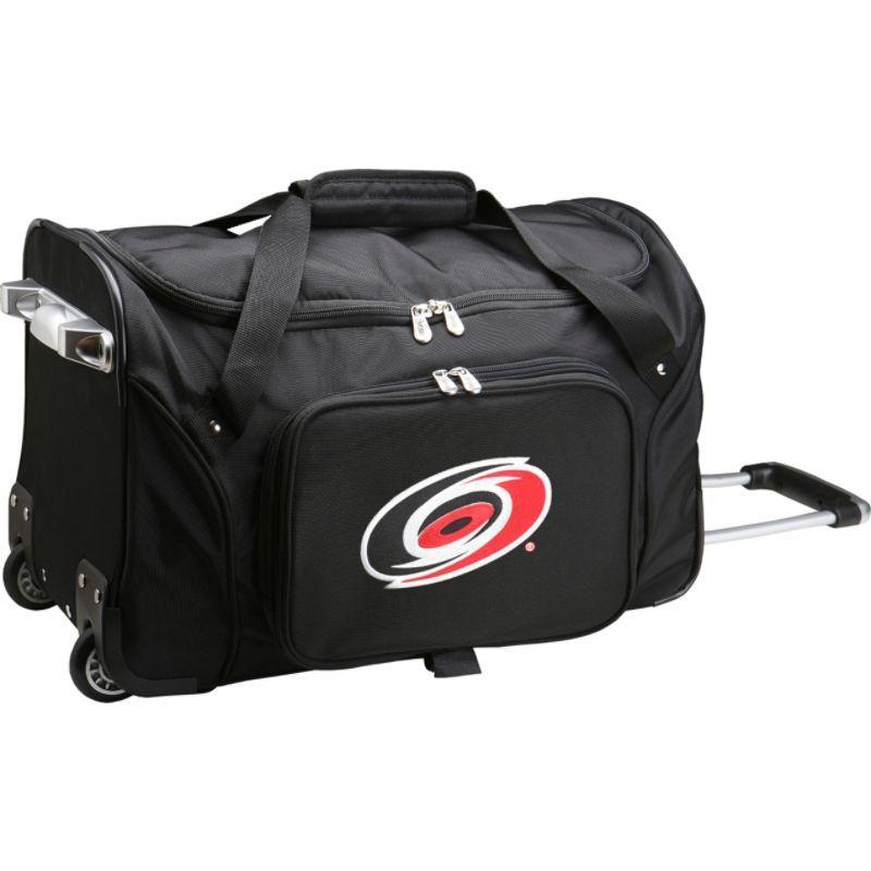 デンコスポーツ メンズ スーツケース バッグ NHL 22 Rolling Duffel Carolina Hurricanes