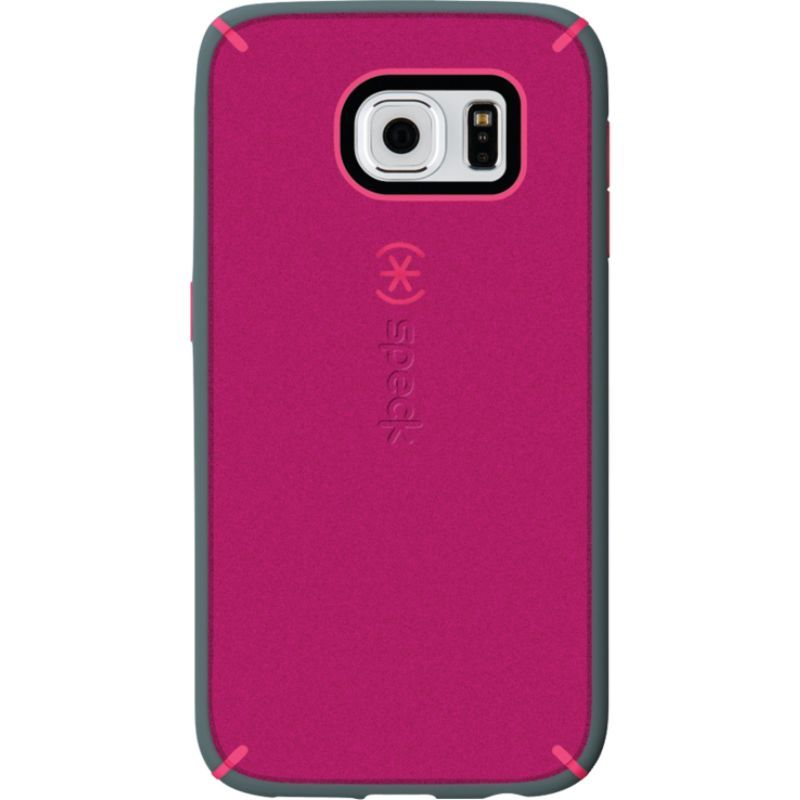 スペック メンズ PC・モバイルギア アクセサリー Samsung Galaxy S6 Mightyshell + Faceplate Fuchsia Pink/Cupcake Pink/Heritage Gray