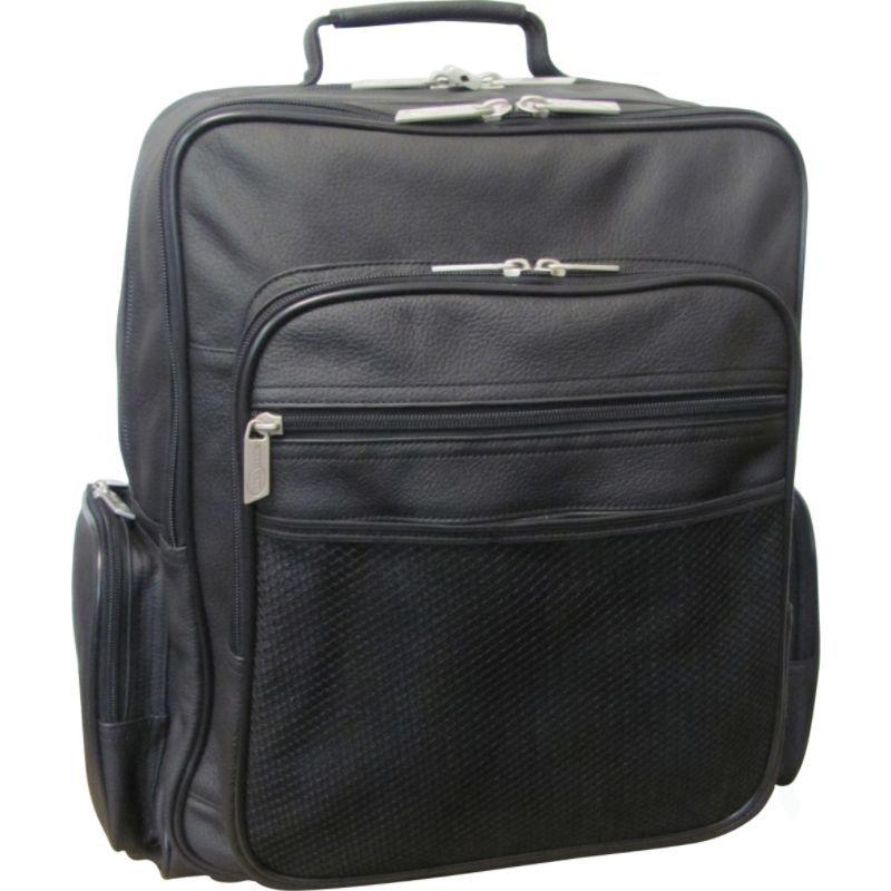 アメリ メンズ スーツケース バッグ CEO Leather Backpack Black