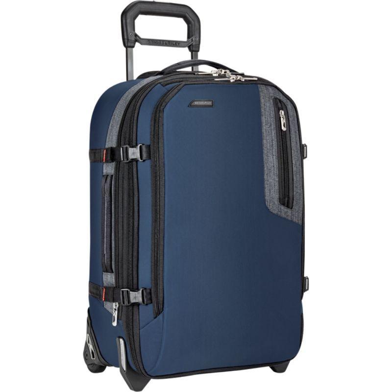 ブリグスアンドライリー メンズ スーツケース バッグ Explore Domestic Expandable Upright Blue