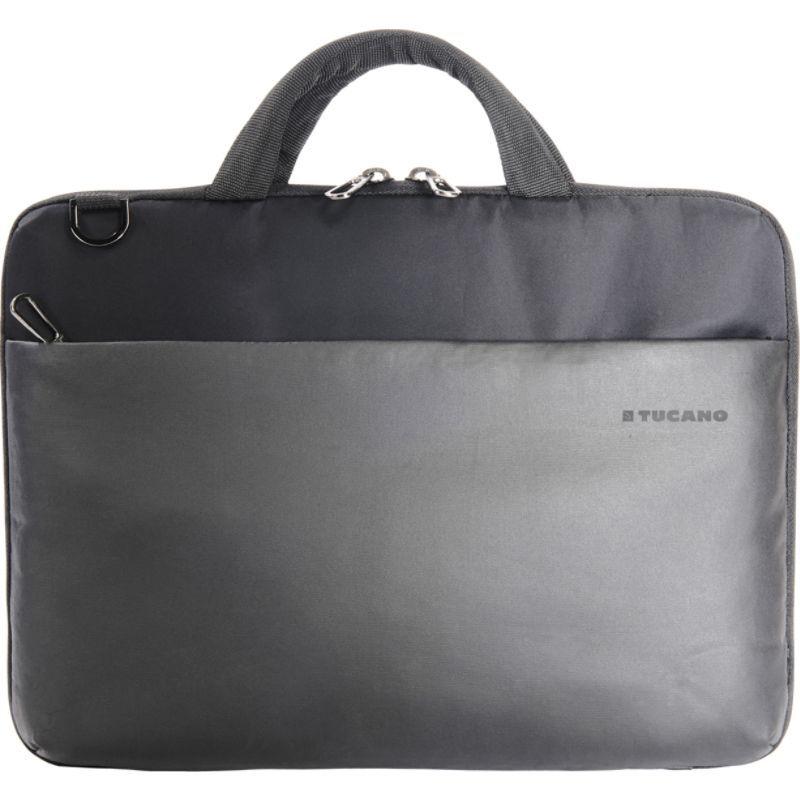 ツカーノ メンズ スーツケース バッグ Dark Work Slim Bag 13 Laptop Case Black