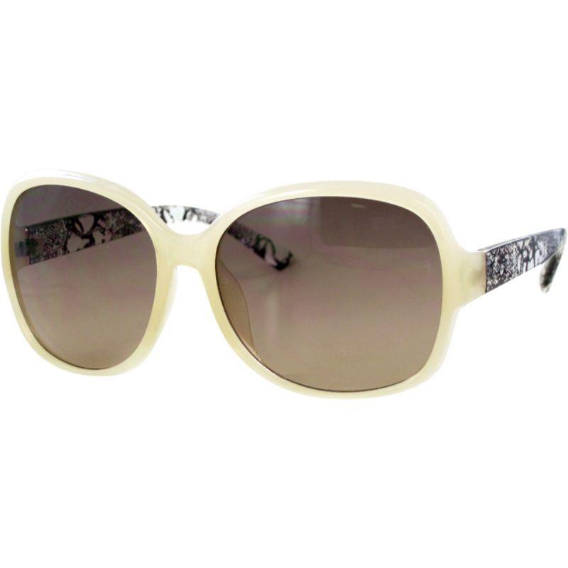 ジョーンズニューヨーク メンズ サングラス・アイウェア アクセサリー Oversized Square Sunglasses Milky Nude/Smoke to Brown Lens