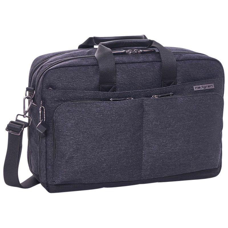 ヘドグレン メンズ スーツケース バッグ Harmony L Briefcase Asphalt