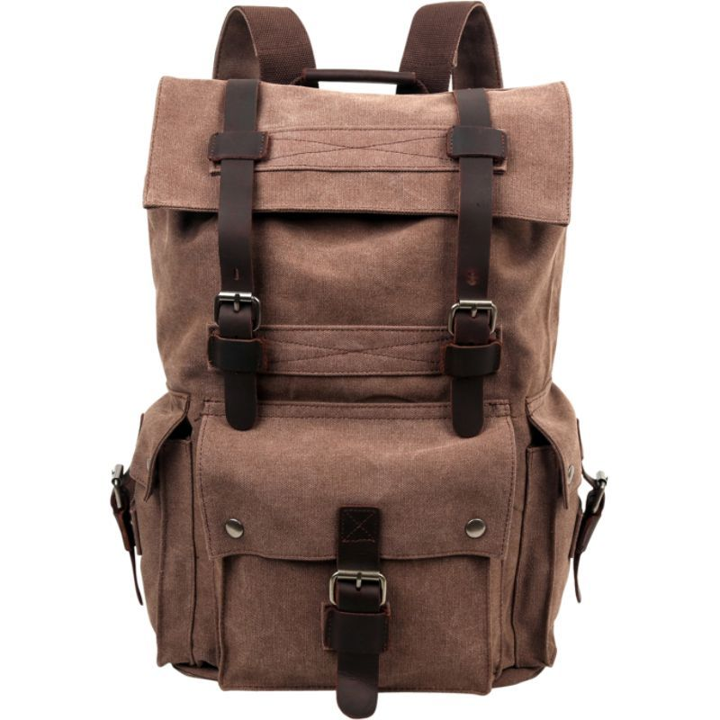 ティエスディー メンズ バックパック・リュックサック バッグ Rover Backpack Brown