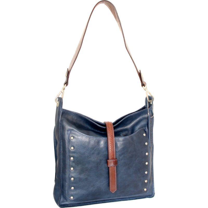 ニノボッシ メンズ ショルダーバッグ バッグ Iyanna Shoulder Bag Blue