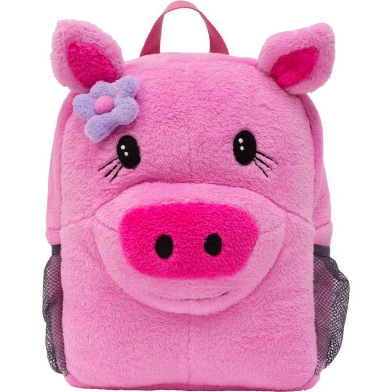 エコギアー メンズ バックパック・リュックサック バッグ Brite Buddies Plush Backpack with LED Flashing Lights Pig