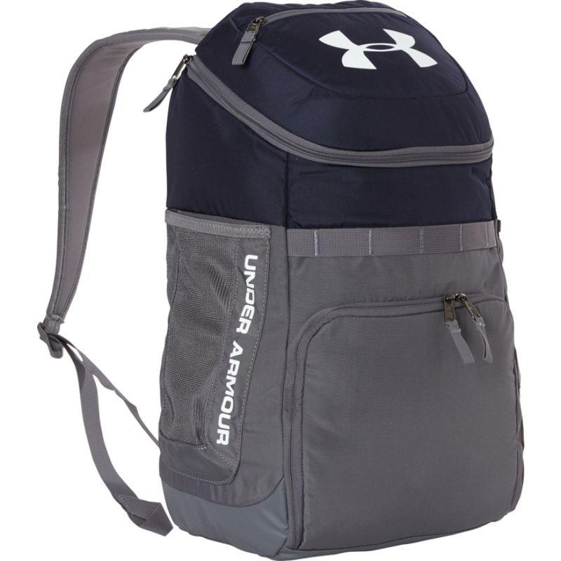 アンダーアーマー メンズ バックパック・リュックサック バッグ UA TEAM Undeniable Backpack Midnight Navy / Graphite / White