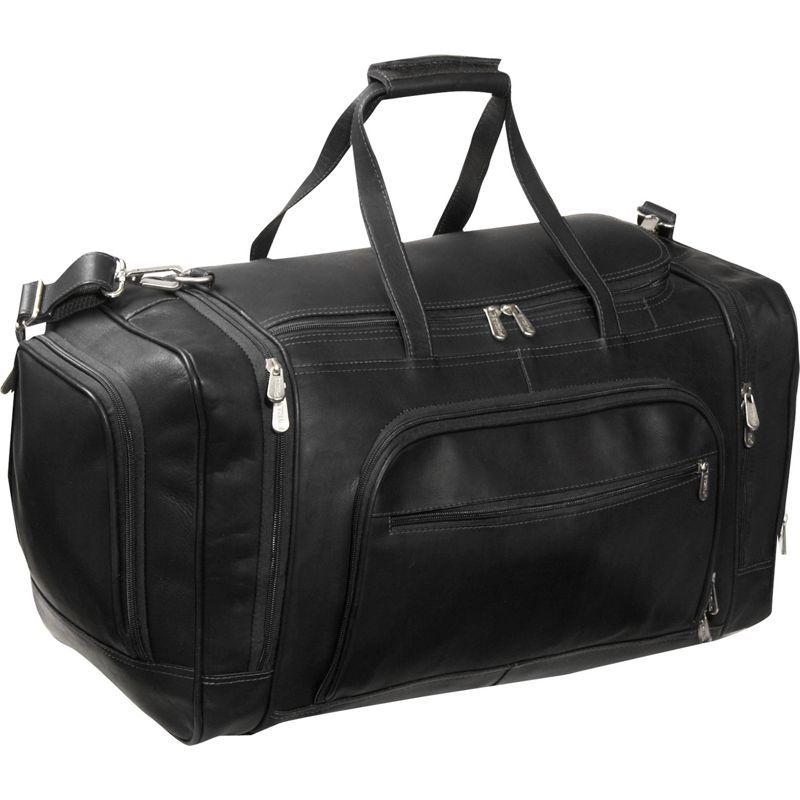 ピエール メンズ スーツケース バッグ Multi-Compartment Duffle Bag Black