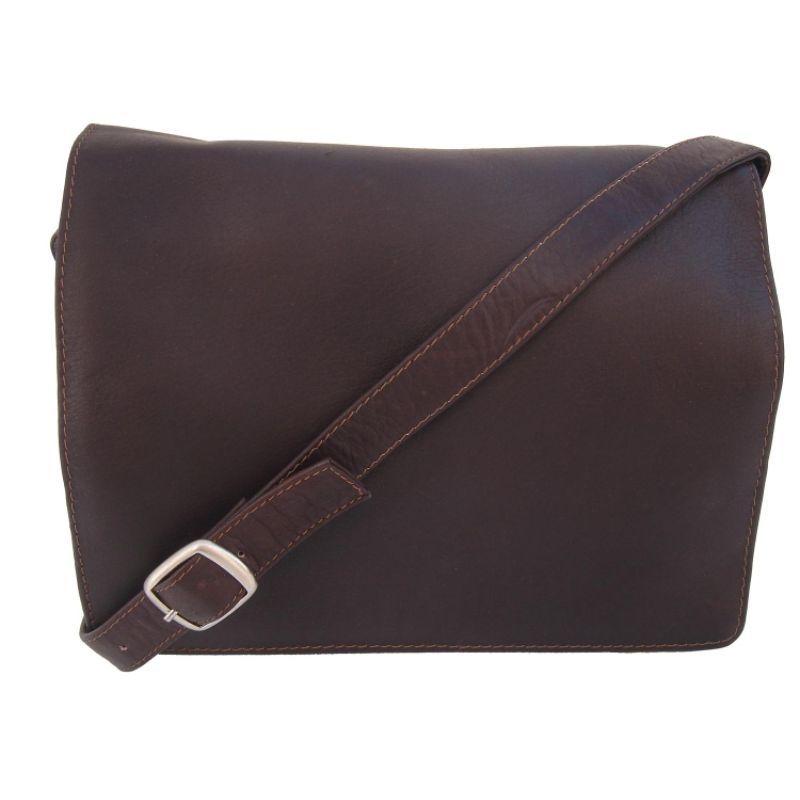 ピエール メンズ ショルダーバッグ バッグ Small Handbag with Organizer Chocolate